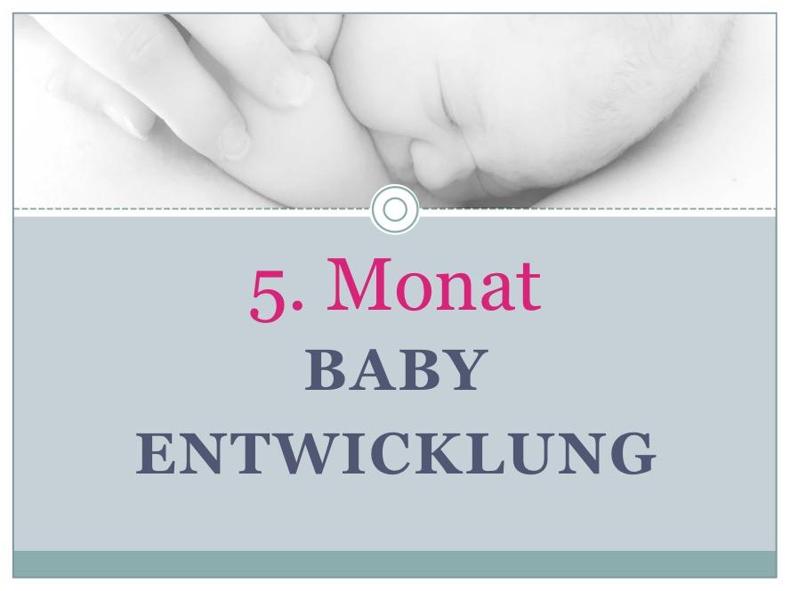 Entwicklung Baby Monat 5 - Babyratgeber