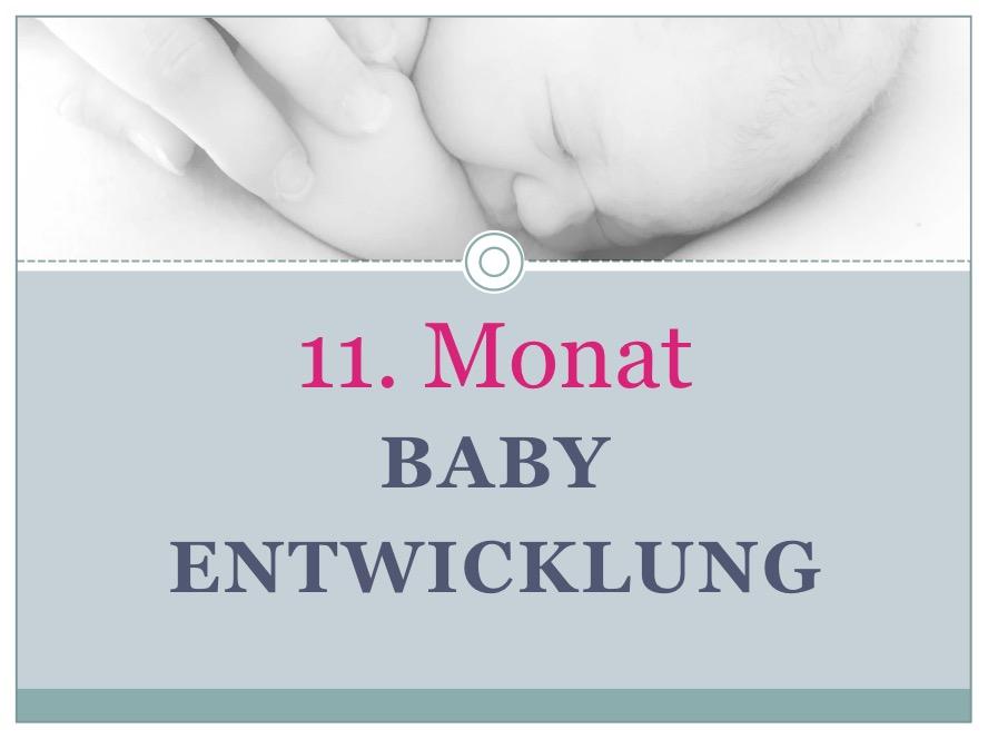 Entwicklung Baby Monat 11 - Babyratgeber