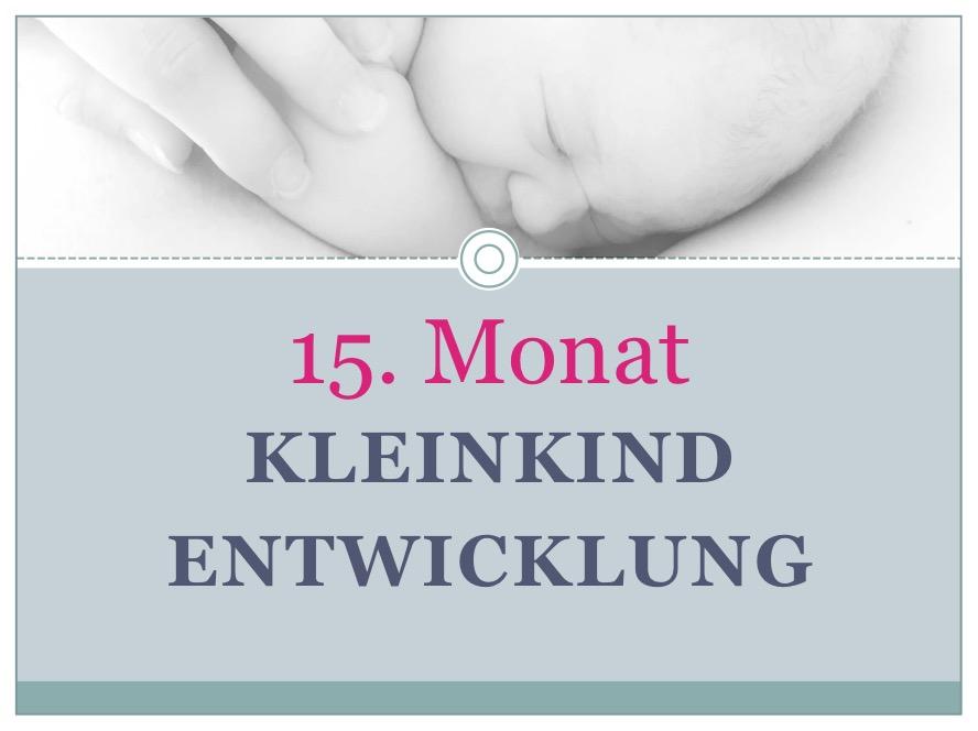 Entwicklung Kleinkind Monat 15 - Babyratgeber