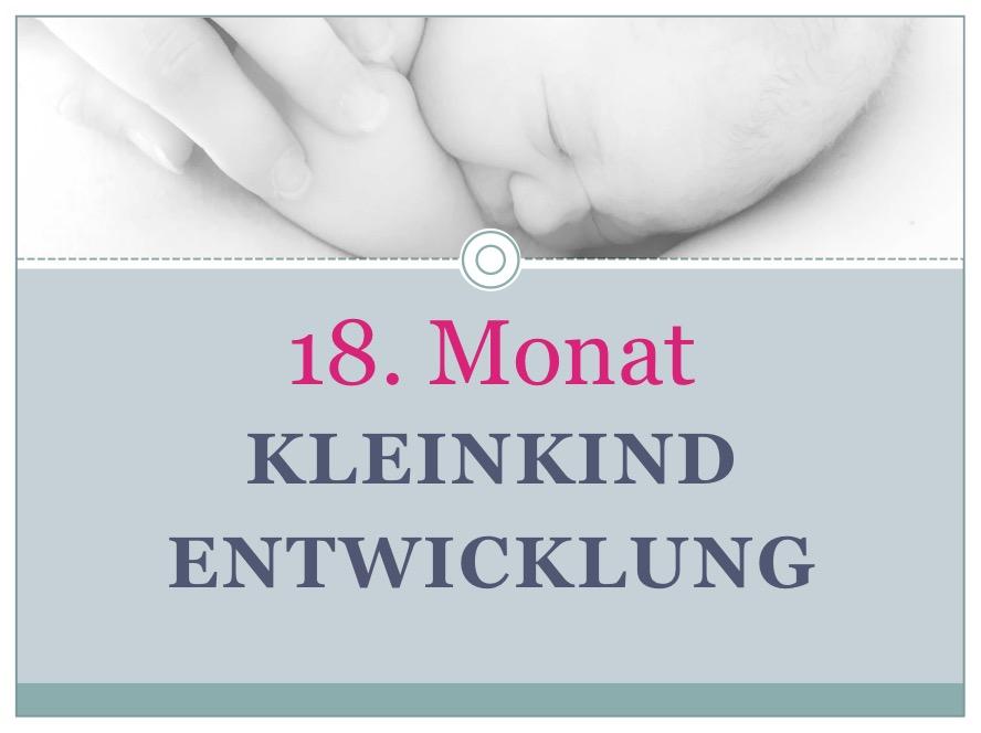 Entwicklung Kleinkind Monat 18 - Babyratgeber