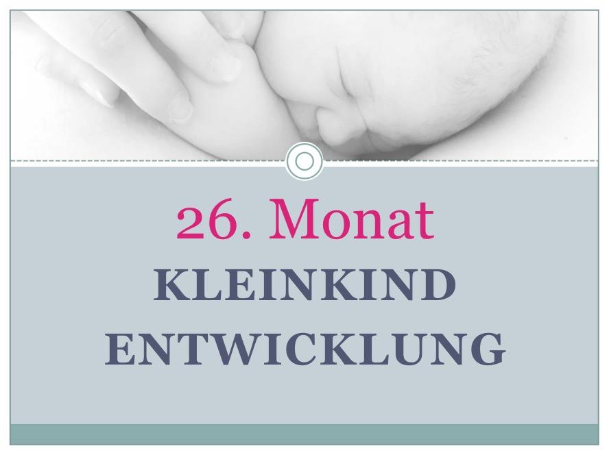 Entwicklung Kleinkind Monat 26 - Babyratgeber