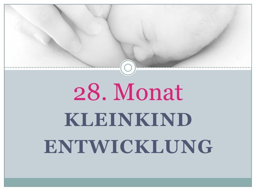 Entwicklung Kleinkind Monat 28 - Babyratgeber