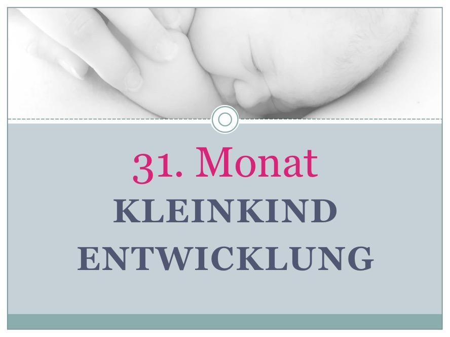 Entwicklung Kleinkind Monat 31 - Babyratgeber
