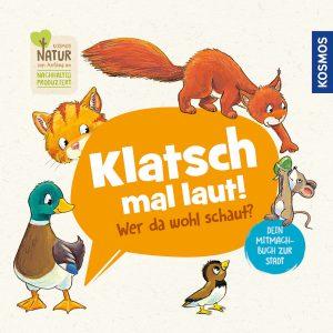 Buch-Cover: Klatsch mal laut! Wer da wohl schaut? Dein Mitmachbuch zur Stadt KOSMOS Verlag