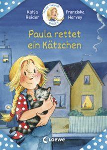 Buchcover: Paula rettet ein Kätzchen (Loewe Verlag)