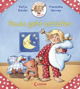 Buchcover: Paula geht schlafen (Loewe Verlag)