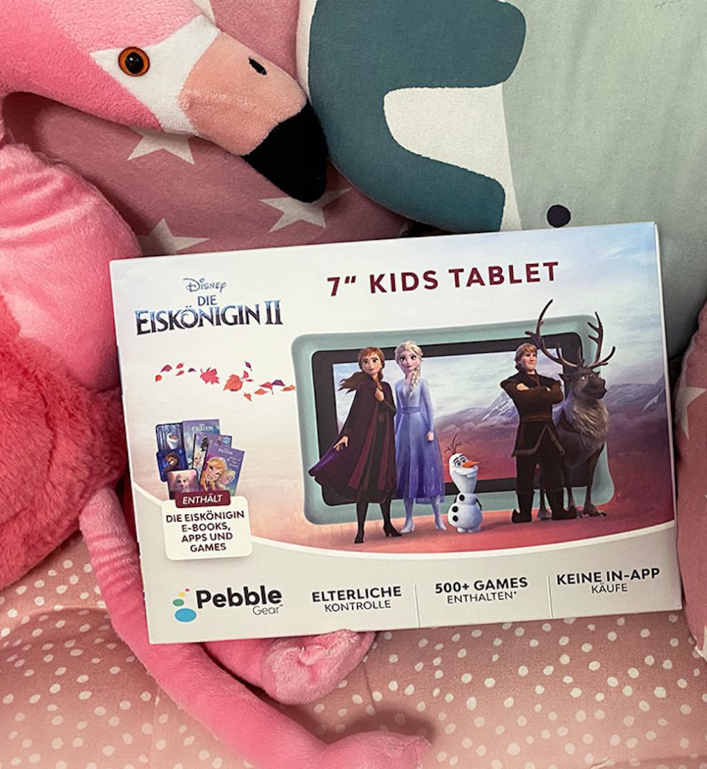 Pebble Gear Kids - Frozen 2 / Die Eiskönigin 2 SPiele-Tablet für Kinder Produkttest auf Kinder-Tablet Spiele Babyratgeber.app
