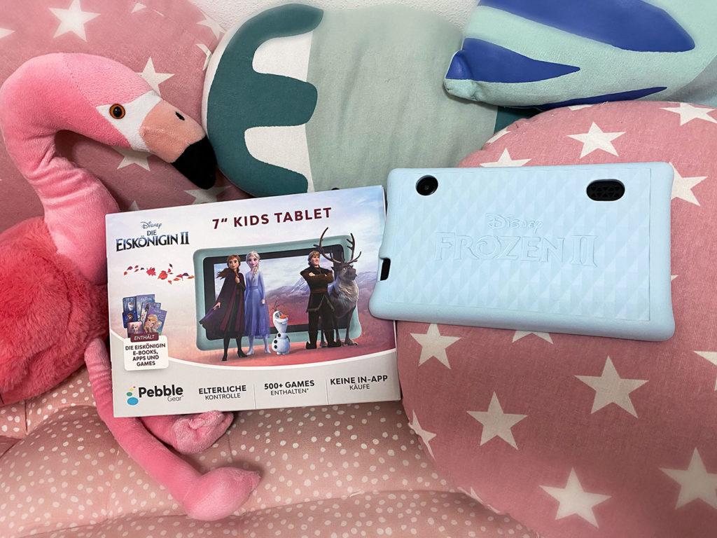Das 'Pebble Gear Kids' ist das neue Kinder Tablet zum spielen. Ohne lästige Werbung und ohne gefährdende Inhalte.